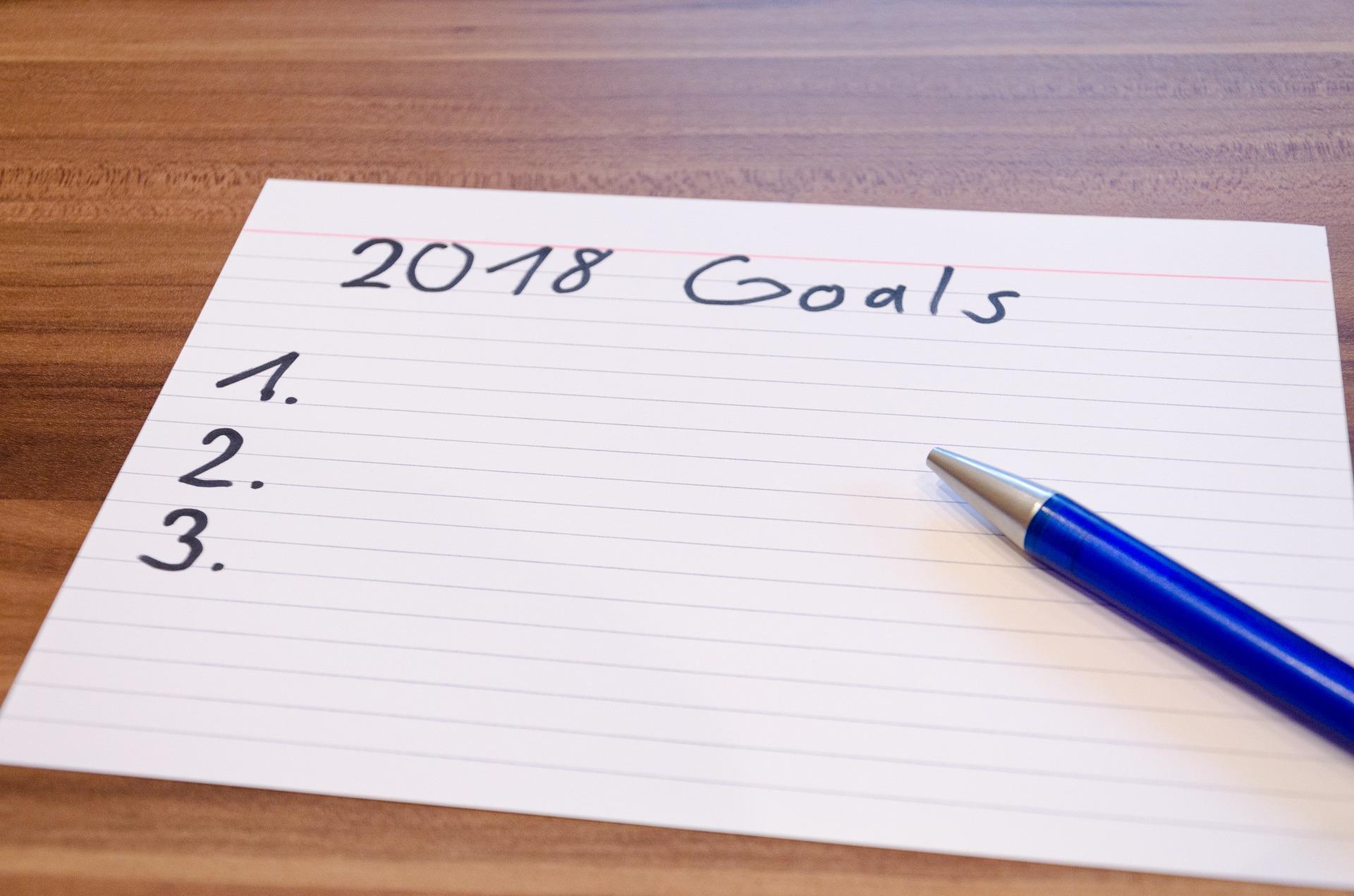 Meine Ziele für 2018   Danny-Ralph Cäsar